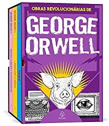 As obras revolucionárias de George Orwell - Box com 3 livros, Capa comum, Versão integral