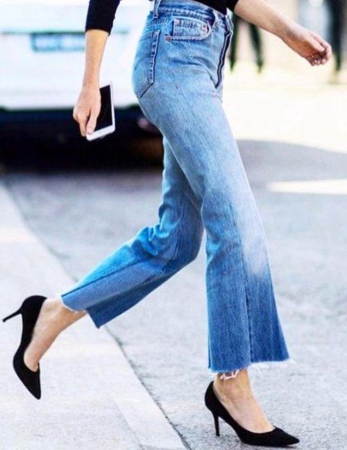 A calça jeans feminina está de volta