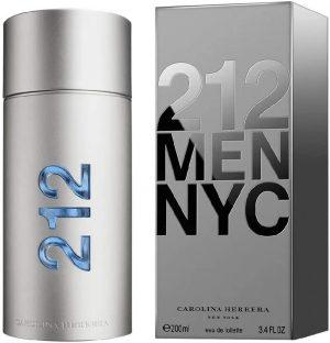 Carolina Herrera - Perfume masculino 212 NYC Men Eau de Toilette 200ml