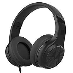 Motorola - Fone de ouvido Pulse 120 com microfone, preto